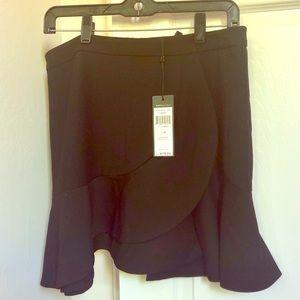 NWT✨ BCBG Ruffle Asymmetric Skirt